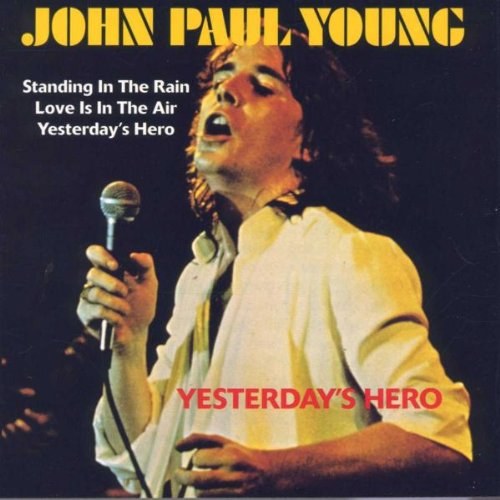 John Paul Young Yesterday's Hero cover art