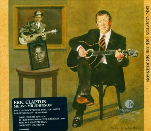 Eric Clapton Hell Hound On My Trail cover art