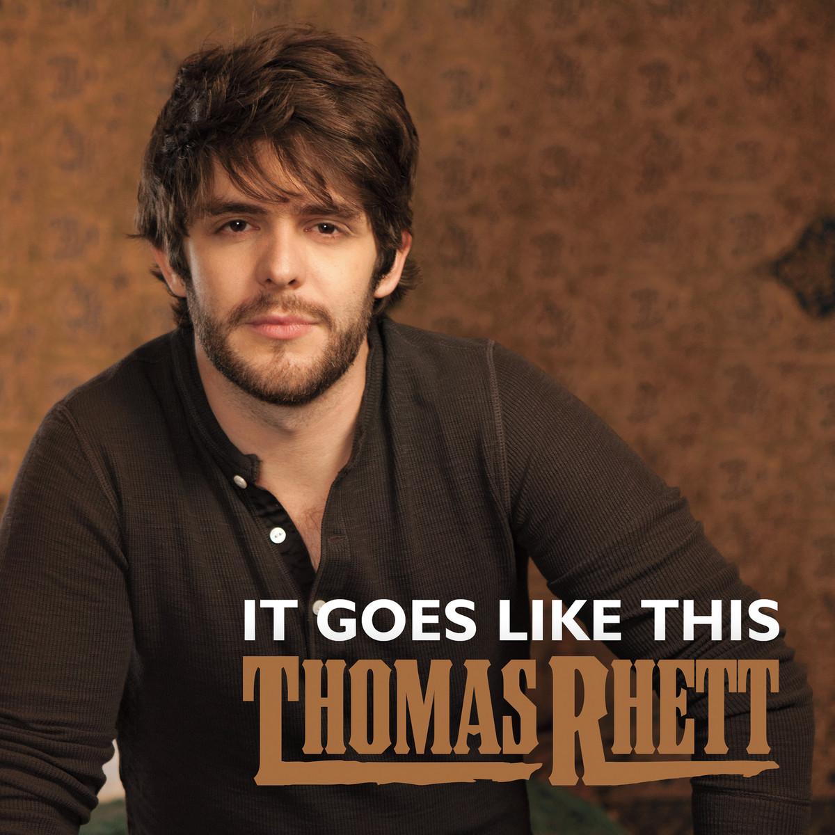 Thomas Rhett It Goes Like This cover art