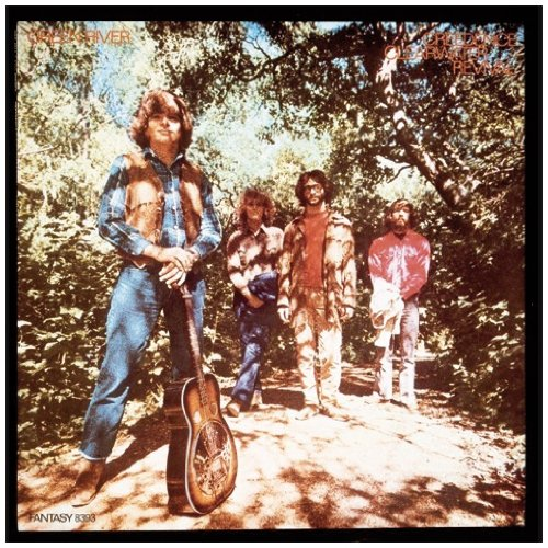 Creedence Clearwater Revival Bad Moon Rising cover art