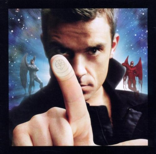 Robbie Williams Sin Sin Sin cover art