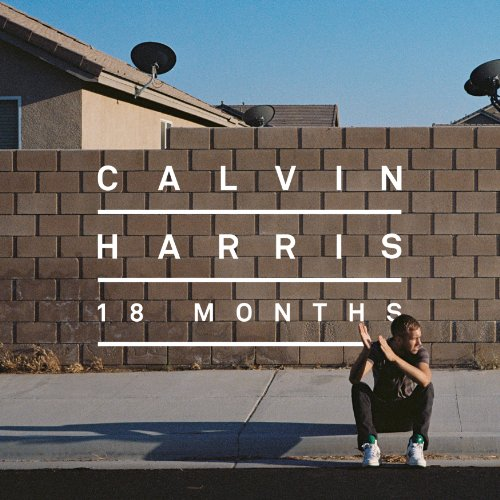 Calvin Harris Sweet Nothing cover art