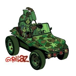 Gorillaz Clint Eastwood cover art