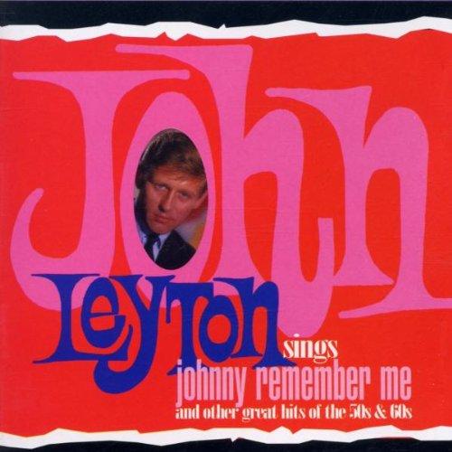 John Leyton Johnny Remember Me cover art
