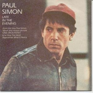 Paul Simon Late In The Evening cover art