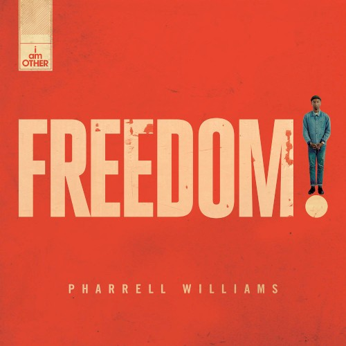 Pharrell Williams Freedom cover art