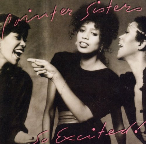 Pointer Sisters I'm So Excited cover art