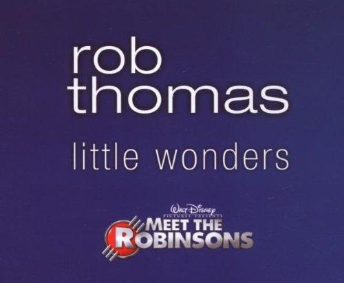 Rob Thomas Little Wonders cover art