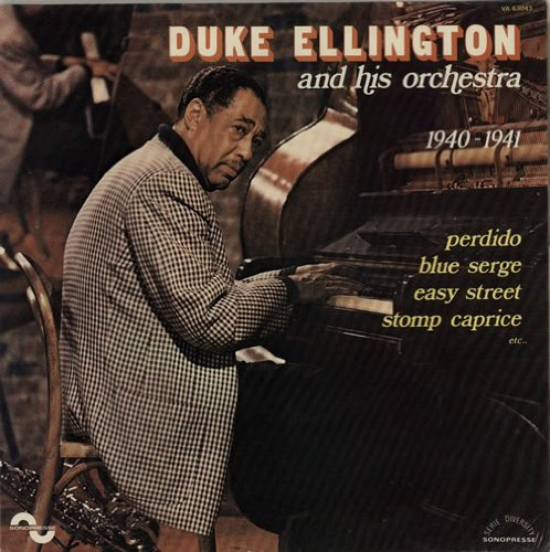Duke Ellington Sidewalks Of New York cover art