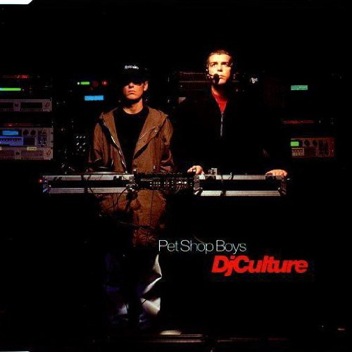 Pet Shop Boys DJ Culture cover art