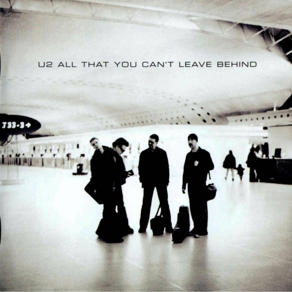 U2 Stuck In A Moment You Can't Get Out Of cover art