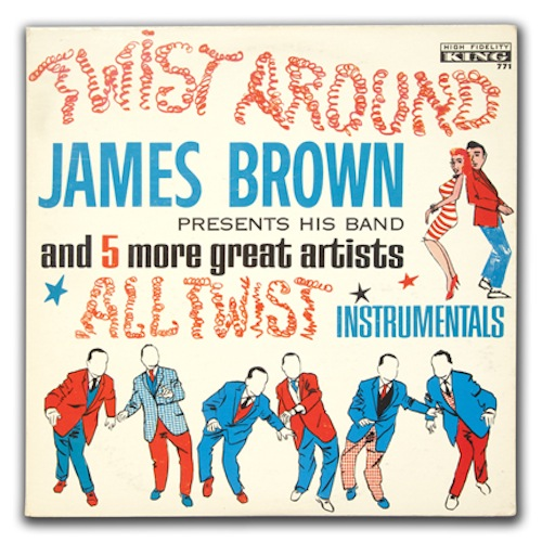 James Brown Night Train cover art