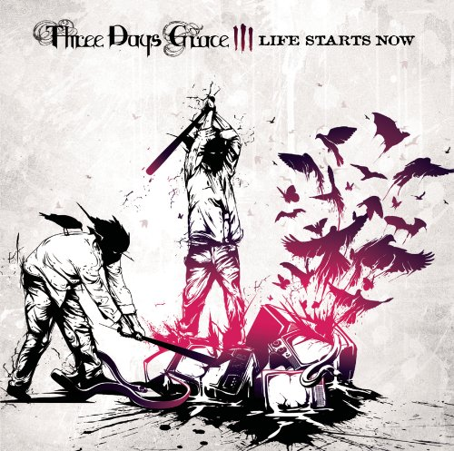 Three Days Grace Life Starts Now cover art