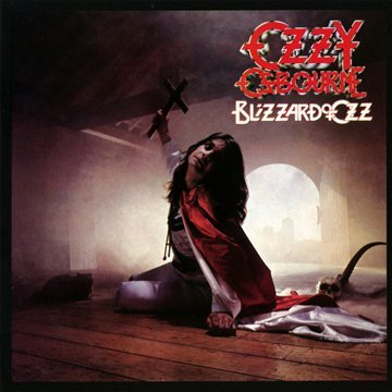 Ozzy Osbourne Goodbye To Romance cover art