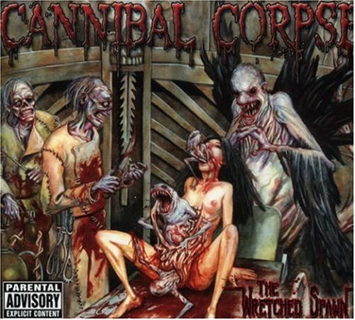 Cannibal Corpse Frantic Disembowelment cover art