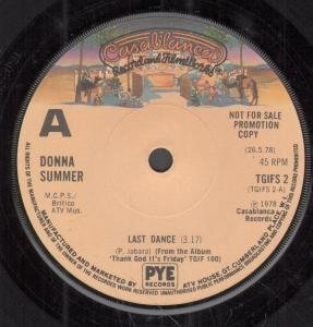 Donna Summer Last Dance cover art