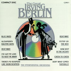 Irving Berlin Let's Take An Old-Fashioned Walk cover art