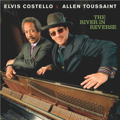 Elvis Costello and Allen Toussaint Wonder Woman cover art