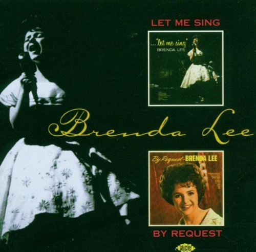 Brenda Lee Break It To Me Gently cover art