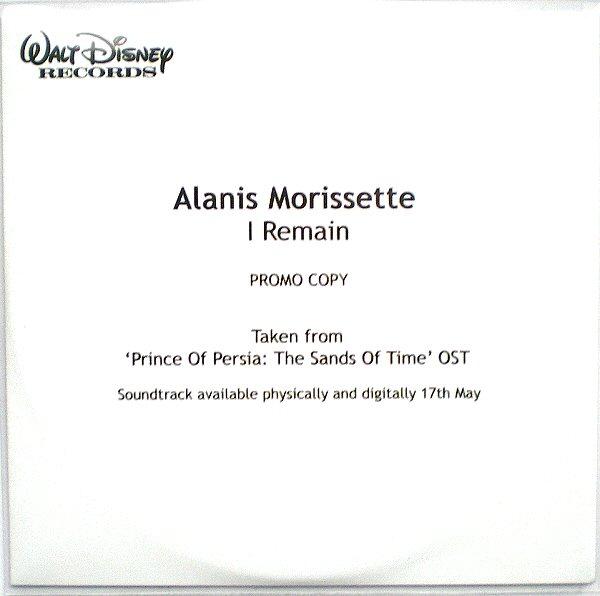 Alanis Morissette I Remain cover art