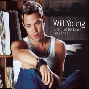 Will Young Don't Let Me Down cover art