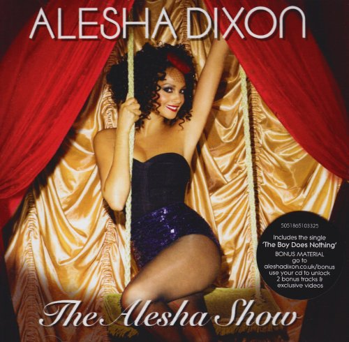 Alesha Dixon Let's Get Excited cover art