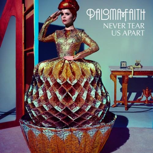 Paloma Faith Never Tear Us Apart arte de la cubierta