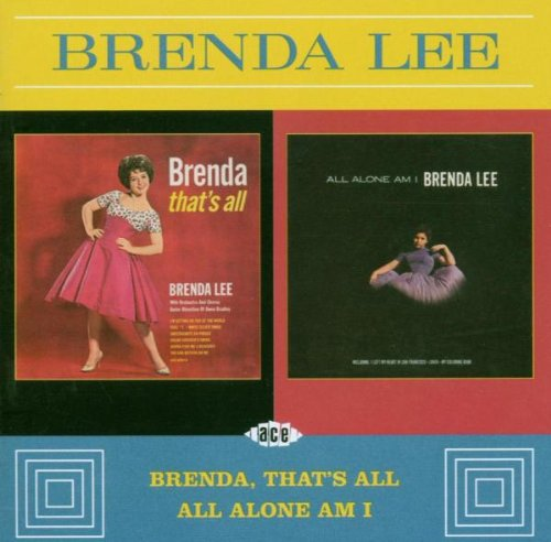Brenda Lee All Alone Am I cover art