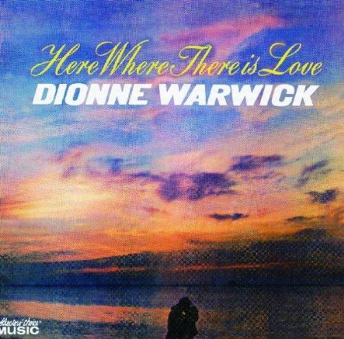 Dionne Warwick Alfie cover art