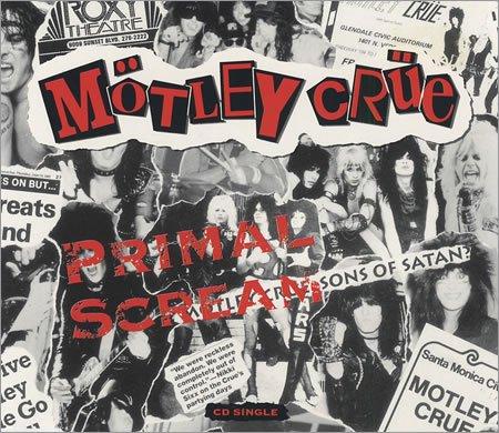 Motley Crue Primal Scream cover art