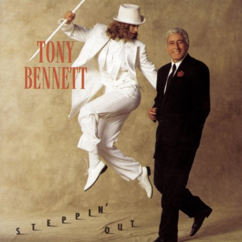 Tony Bennett Steppin' Out With My Baby cover art