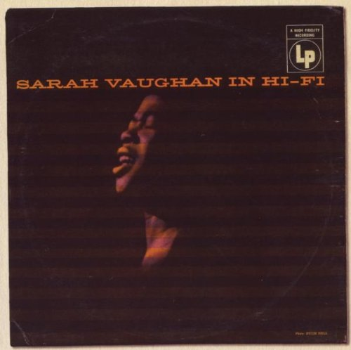 Sarah Vaughan It Might As Well Be Spring cover art