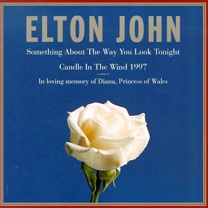 Elton John Candle In The Wind 1997 cover art