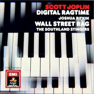 Scott Joplin Stoptime Rag cover art