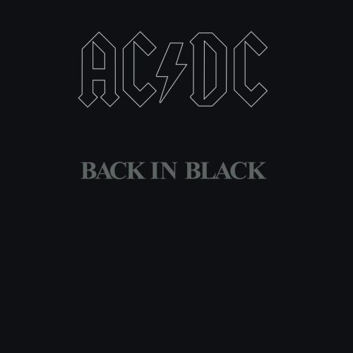 AC/DC Back In Black cover art