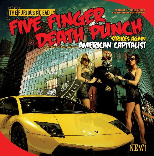 Five Finger Death Punch Under And Over It cover art