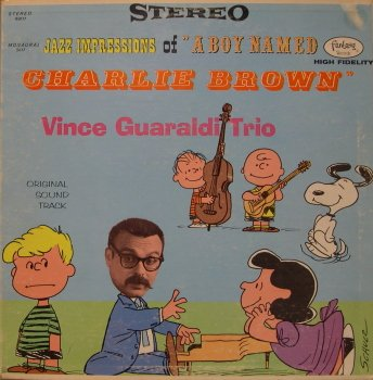 Vince Guaraldi Blue Charlie Brown cover art