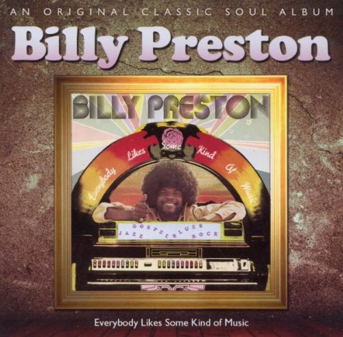 Billy Preston Space Race cover art