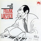 Frank Loesser I Wish I Didn't Love You So arte de la cubierta