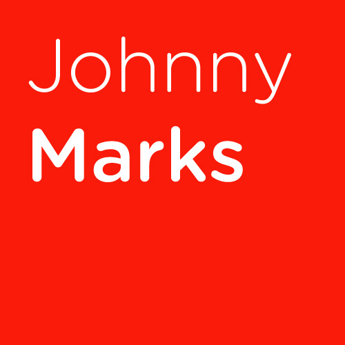 Johnny Marks Run Rudolph Run cover art