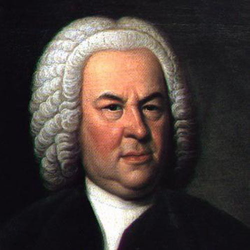 Johann Sebastian Bach Two-Part Invention in A Minor cover art