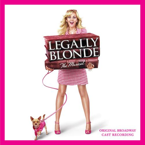 Legally Blonde The Musical Ireland cover art