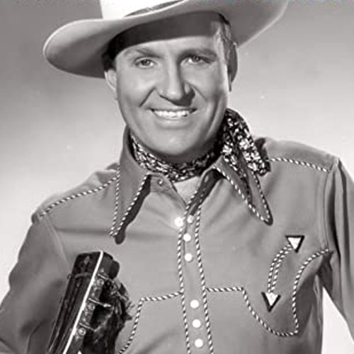 Gene Autry South Of The Border cover art