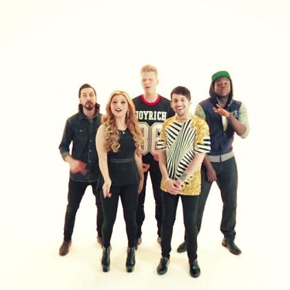 Pentatonix Deck The Halls (arr. Mac Huff) cover art