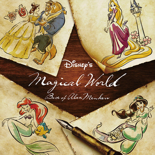 Alan Menken Beauty And The Beast cover art
