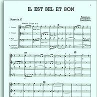 John Leavitt Il Est Bel Et Bon (A Good And Handsome Man) cover art