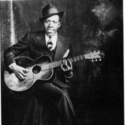 Robert Johnson Sweet Home Chicago l'art de couverture