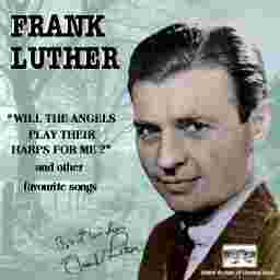 Frank Luther Christmas Is A-Comin' (May God Bless You) cover art