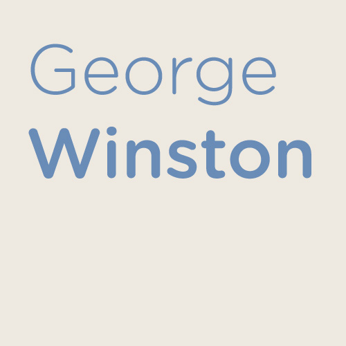 George Winston Longing cover art