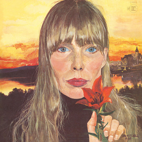 Joni Mitchell Urge For Going cover art